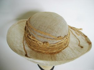 Anne Livingston Sinamay Abaca Hat