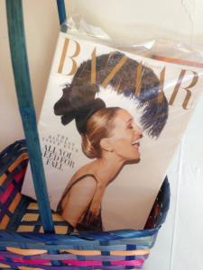 Sarah Jessica Parker September Harper's Bazaar